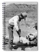 Cowboys: Branding Cattle Spiral Notebook