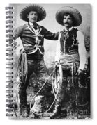 Cowboys, C1900 Spiral Notebook