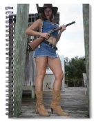 Cowgirl 019 Spiral Notebook