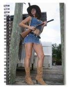 Cowgirl 020 Spiral Notebook