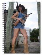 Cowgirl 022 Spiral Notebook