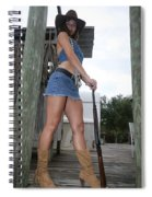 Cowgirl 023 Spiral Notebook