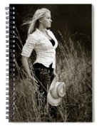 Cowgirl Spiral Notebook