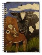 Cow's Spiral Notebook