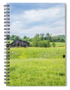 Cows In The Country Spiral Notebook