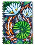 Coy Carp Spiral Notebook