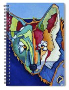 Coyote Blue Spiral Notebook