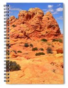 Coyote Buttes Pastel Landscape Spiral Notebook