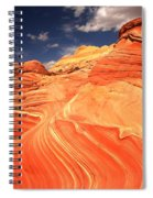 Coyote Buttes Sandstone Towers Spiral Notebook