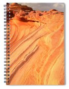 Coyote Buttes Sunset Glow Spiral Notebook