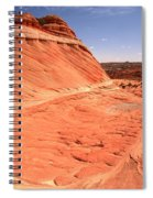 Coyote Buttes Swirling Sandstone Spiral Notebook