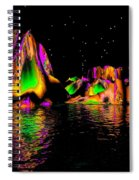 Coyote Moon- Spiral Notebook
