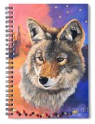 Coyote The Trickster Spiral Notebook