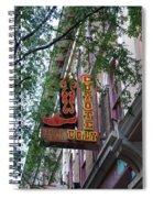 Coyote Ugly Saloon Nashville Spiral Notebook