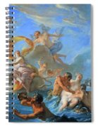 Coypel's The Abduction Of Europa Spiral Notebook