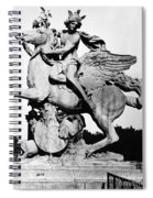 Coysevox: Mercury & Pegasus Spiral Notebook