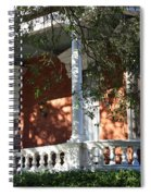Cozy Savannah Porch Spiral Notebook