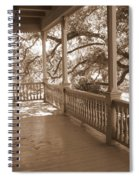 Cozy Southern Porch Spiral Notebook