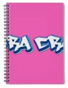 Cra Cra Tee Spiral Notebook