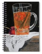 Crab Apple And Cinnamon Tea Spiral Notebook