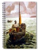 Crab Fisherman Spiral Notebook