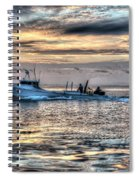 Crabbing Boat Miss Maxine - Smith Island Maryland Spiral Notebook