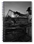 Crabbing On The Potomac Spiral Notebook