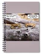 Crabby Spiral Notebook