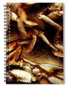 Crabs Awaiting Their Fate Spiral Notebook