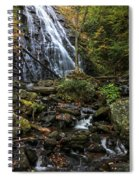 Crabtree Falls In Autumn Spiral Notebook