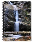 Crabtree Falls In Fall Spiral Notebook