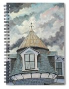 Crack The Sky Spiral Notebook
