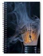 Cracked Bulb Spiral Notebook