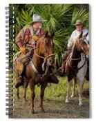 Cracker Cowboys Spiral Notebook