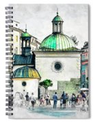 Cracow Art 3 Spiral Notebook
