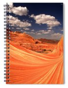 Cradled By A Wave Spiral Notebook