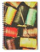 Craft Grunge Spiral Notebook