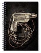 Craftsman Drill Motor Bs On Black Spiral Notebook