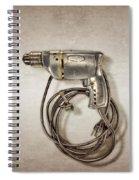 Craftsman Drill Motor Left Side Spiral Notebook