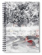 Cranberries In Winter Spiral Notebook