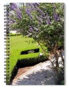 Crane Cottage Garden In Spring Spiral Notebook