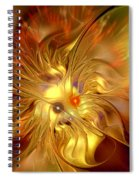 Cranial Supernova Spiral Notebook