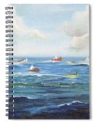 Crashboat Beach Spiral Notebook