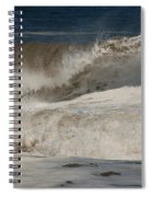 Crashing - Jersey Shore Spiral Notebook