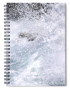 Crashing Against Lava Rocks Spiral Notebook
