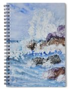 Crashing Wave IIi Spiral Notebook