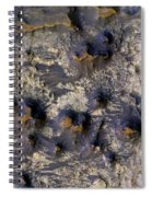 Crater In Mars Spiral Notebook