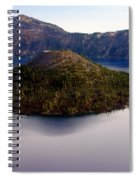 Crater Lake 1 Spiral Notebook
