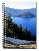 Crater Lake 12 Spiral Notebook