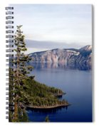 Crater Lake 3 Spiral Notebook